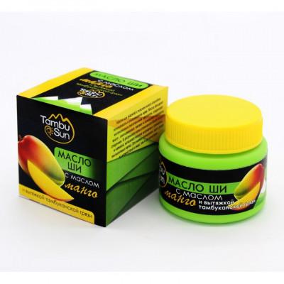 Масло ши с маслом манго «Tambusun»