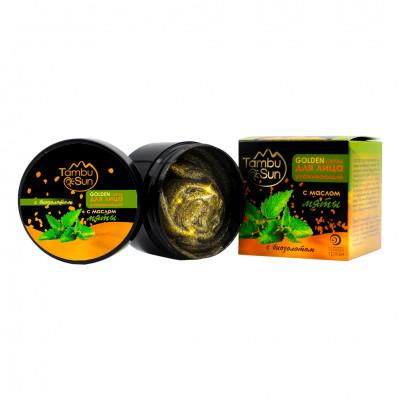 Тамбуканский «GOLDEN скраб» с эфирным маслом мяты