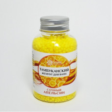 Тамбуканская соль для ванны «СОЧНЫЙ АПЕЛЬСИН» 185 г.